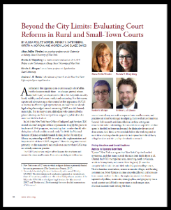Beyond City Limits - Evaluating Court Reforms in Rural and Small-Town Courts_2017_border